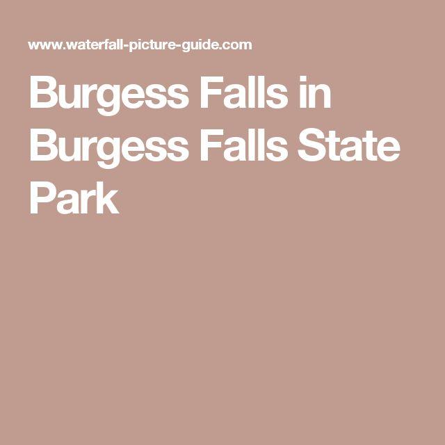 Burgess Falls in Burgess Falls State Park