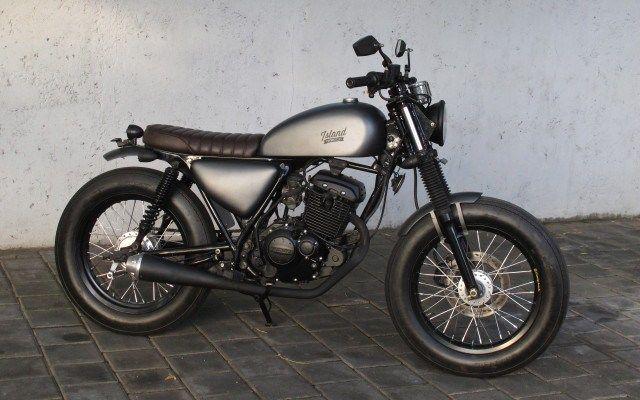Photo Gallery | Island Motorcycles    Suzuki GSX (Thunder) #cafe racer #brat #Bali #custom