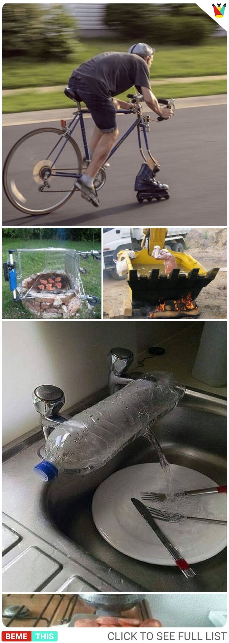 These Funny Photos Will Prove That Necessity is the Mother of Invention #weird #…