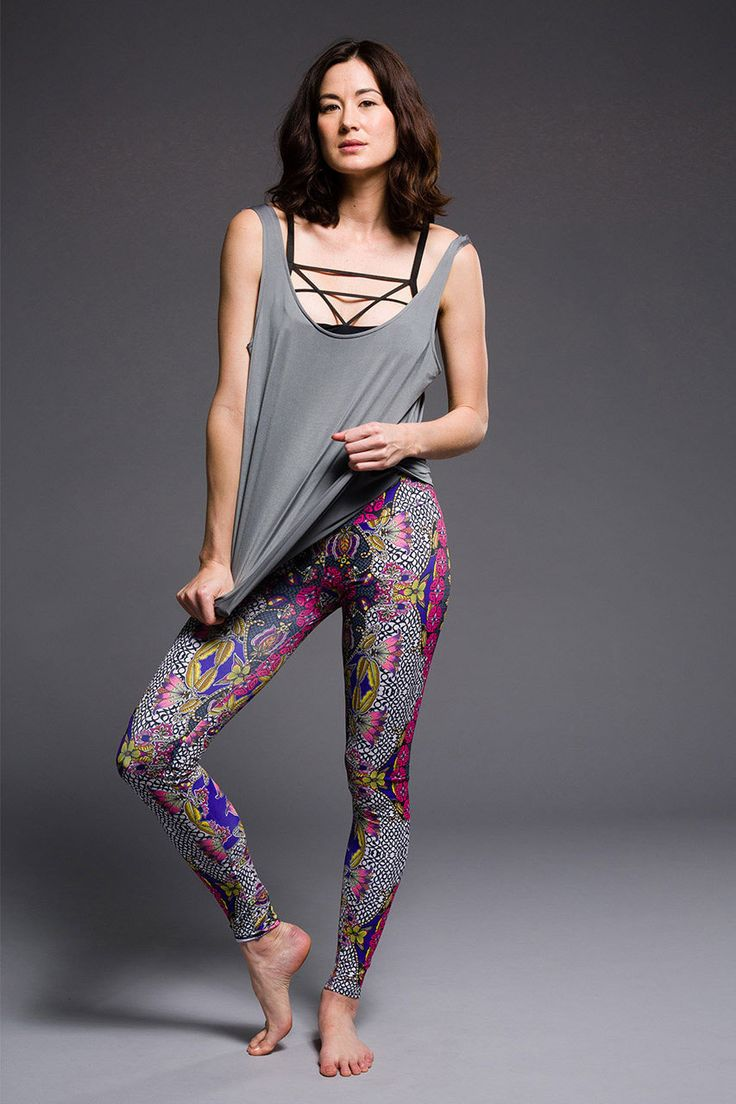 65 Onzie Long Leggings Hot Yoga Clothing, Bikram Yoga