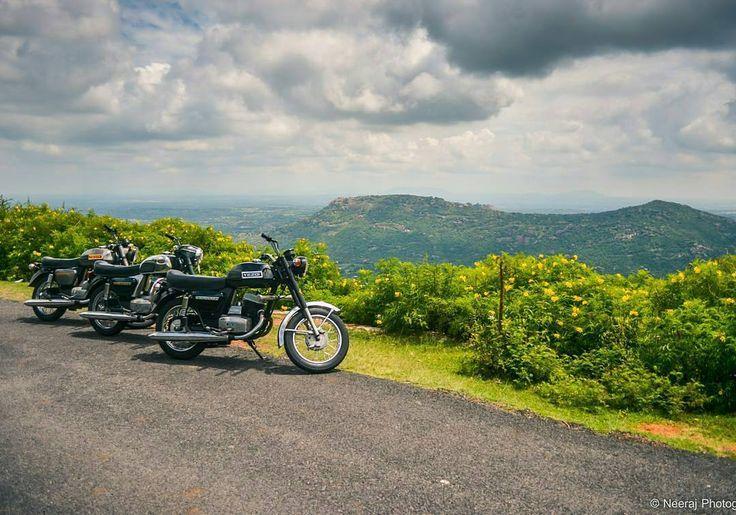 When Yezdi's get along!  Photo courtesy of @neerajnero  More photos on - http://ift.tt/1MOOLiU (Link in Profile) | #jawa | #jawamotorcycles.com | #idealjawa| #2stroke | #chrome | #Cz | #biker | #motorcycles | #imtheindianbiker | #yezdi | #yjoci | #retro | #czech | #vintage | #vintagestyle |#india | #motorbike | #caferacer | #bikeporn | #instamotogallery | #dirt | #bike | #picoftheday | #gopro | #motocross | #motorcycleyard |