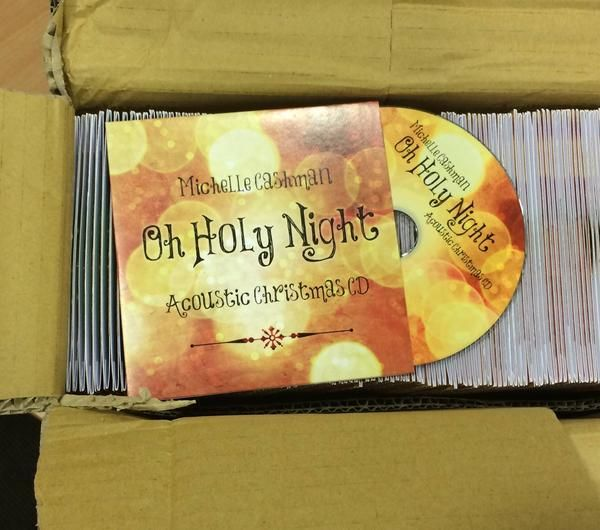 Michelle Cashman Oh Holy Night merch pack