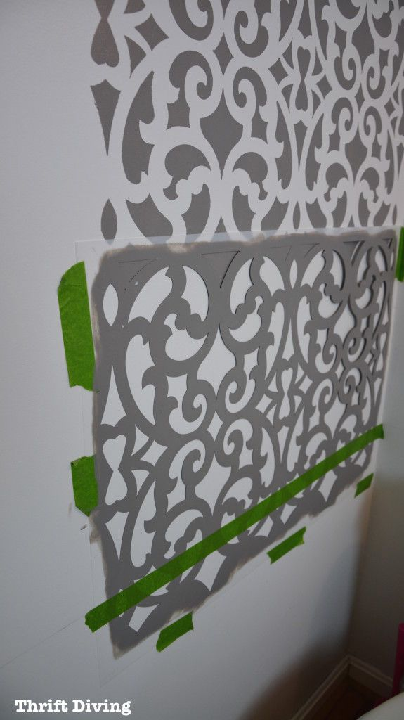 Wall Stencils Royal Design : Best how to stencil images on wall