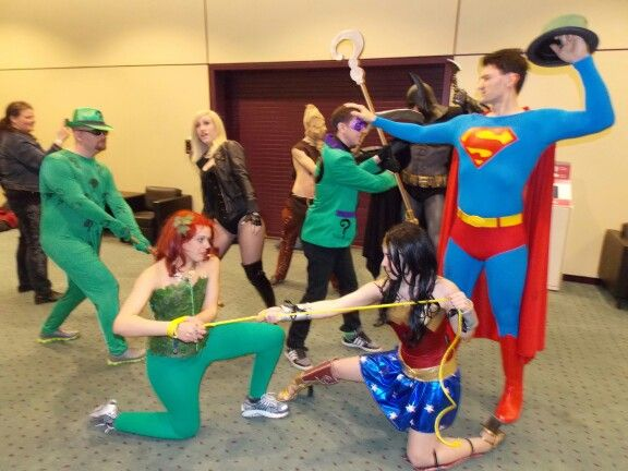 Heroes and Villains at Comicon Toronto photo by Shane C