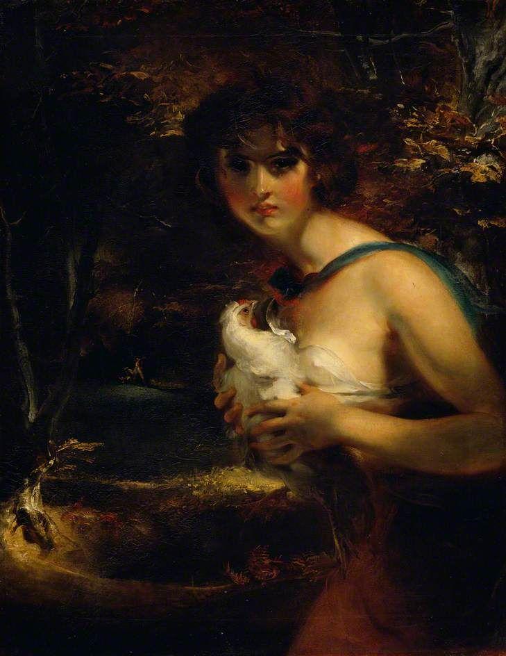 Би-би-си - ваши картины - Gipsy Girl Цыганский Девушка по Томас Лоуренс   Королевская академия искусств Дата роспись: 1794 Холст, масло, 91.5 x 71,1 см Коллекция: Королевская академия искусств