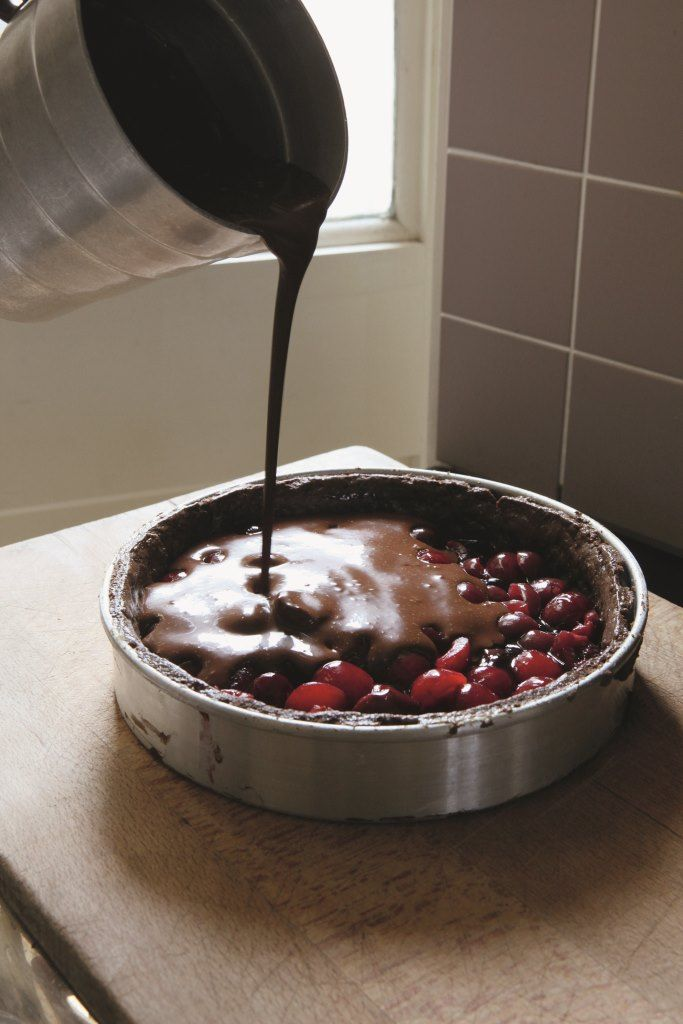 Deliciously rich and dark but not too sweet, this is a properly luxurious pudding ideal for a special occasion. If you back yourself in the pastry stakes, do make the chocolate pastry; alternatively, a simple sweet shortcrust works well.