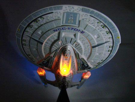 Star Trek Enterprise-E Is Ready For LaunchStars Trek, Trek Enterprise, Trek Nemesis, Startrek Com, Starfleet Stars, Star Trek