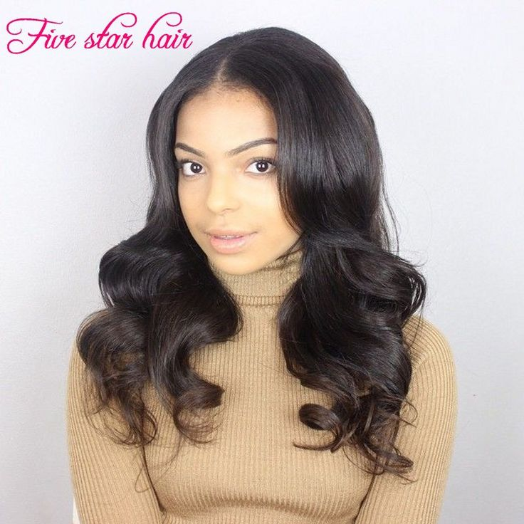 Find More Human Wigs Information about Top Grade Glueless Full lace wig Remy Indian Human hair wavy wigs Natural black 150% Density Virgin Lace front wigs,High Quality wig part,China wig heads for sale Suppliers, Cheap wigs online from Five star human hair products store  on Aliexpress.com