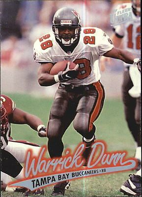 1997 Ultra Tampa Bay Buccaneers Football Card #205 Warrick Dunn