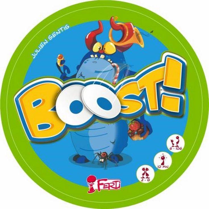 BOOST! Gioco da Tavolo in Italiano Party Game Famiglia Riflessi di Società