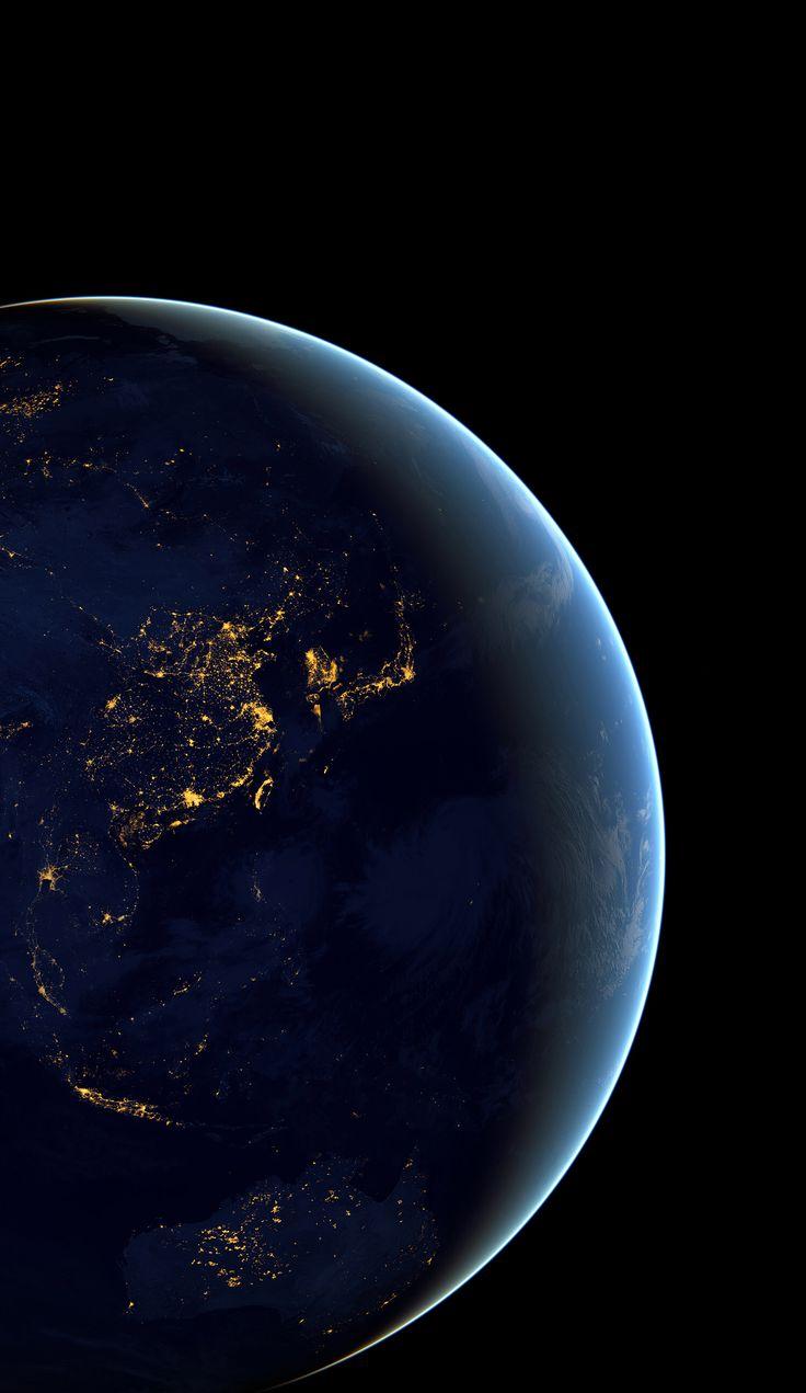 UHD 화질로 우주에서 본 동아시아.jpg | Daum 루리웹