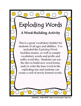 front foot running shoes This vocabulary builder is great for students of all ages and abilities   easily adaptable   The Exploding Words BLM  as well as sample vocabulary
