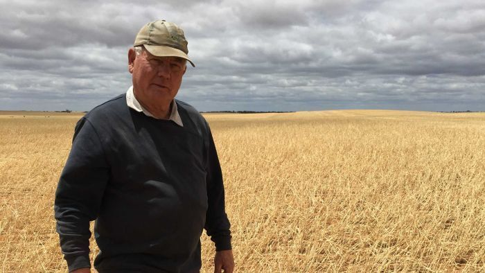 At least 450 farms have lost some or all of their crops in north west Victoria after wild weather.