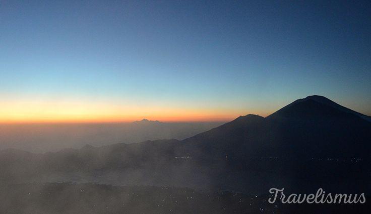 View from volcano Gunung Batur, Bali