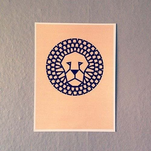 New #poster from #wwwmarigrafcom #lion #instahome #interior #childrensroom