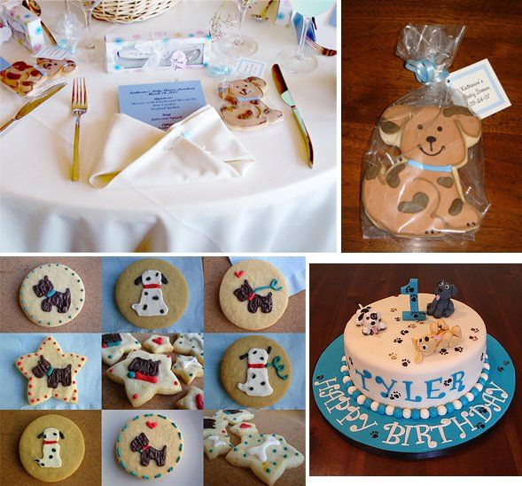 28 Best Party: Puppy / Dog 1st Birthday Images On
