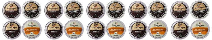 20-count K-cup for Keurig Brewers Coffee Flavored Variety Pack Featuring Gloria Jean Coffee Cups >>> Additional details at the pin image, click it  : K Cups