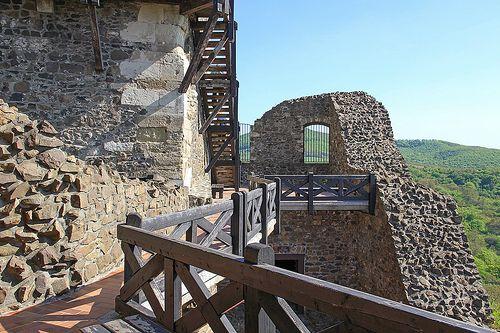 Inside the castle - Holloko, Hungary