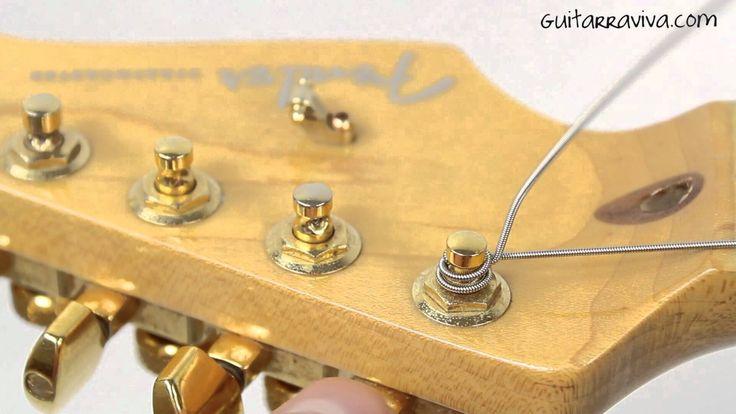 Cómo cambiar las Cuerdas de la Guitarra Eléctrica
