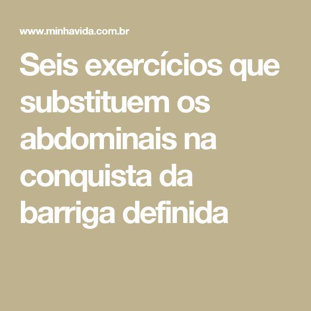 Seis exercícios que substituem os abdominais na conquista da barriga definida