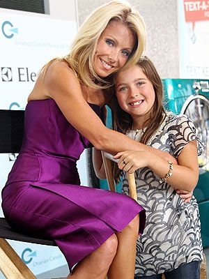 Kelly Ripa and her daughter. | All In The Family-Hollywood ...