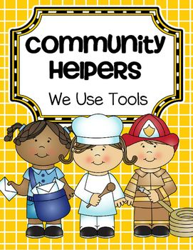 This is a collection of activities about Community Helpers and the tools that they use in their work, for preschool and Pre-K. The primary emphasisis the social studies aspect of furthering the understanding our community, and the fact that most adults have jobs in order to make money to support themselves and their family.