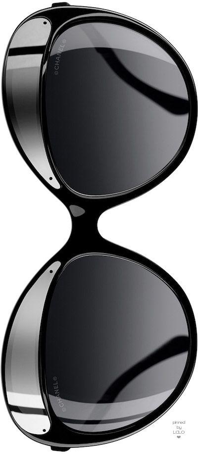 Chanel Fall Round Sunglasses