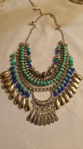 Collar Pechera Verano 2016. Style Folk.gypsy Tendencia - $ 270,00