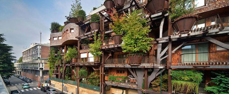 In Turijn kun je midden tussen de bomen leven