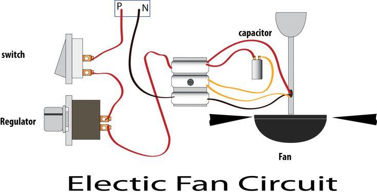 Electric Fan Regulator Circuit Power Pinterest Electric Fan