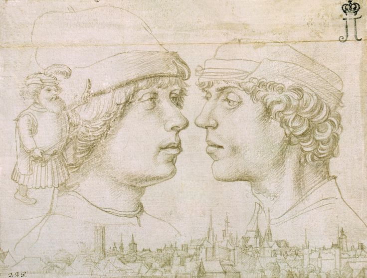 Holbein , Hans, I  Portrait of the Artist's Sons. Germany, Circa 1514/1515 г.