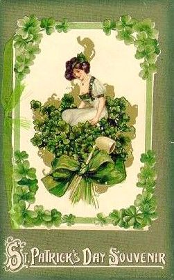 St. Patrick's Day vintage card