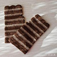 Crochet fingerless gloves - Háčkované návleky na ruce | Kantýnka - Fler.cz