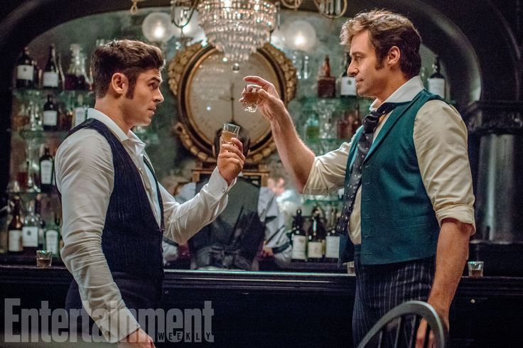 The Greatest Showman. A musical. I can't. Is it Christmas yet????