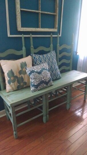 Reusing Old Furniture best 25+ chair bench ideas on pinterest | unusual furniture