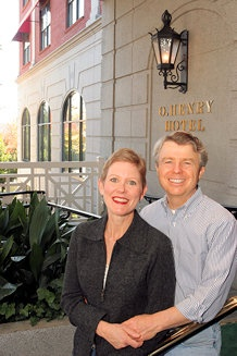 Dennis & Nancy King Quaintance want to make a hotel the center of the community