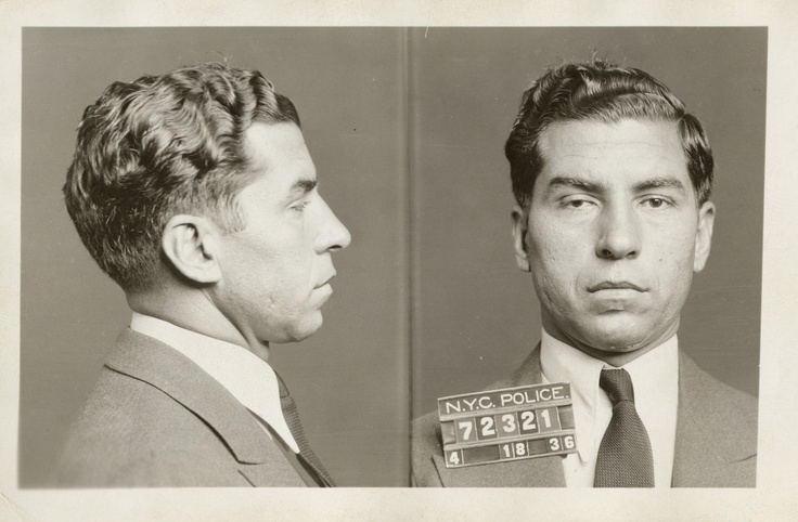 "Charles ""Lucky"" Luciano, 18 avril 1936"