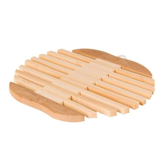 Eco-friendly Bamboo Mats Bamboo Pad Kitchen Tool Insulation Pads
