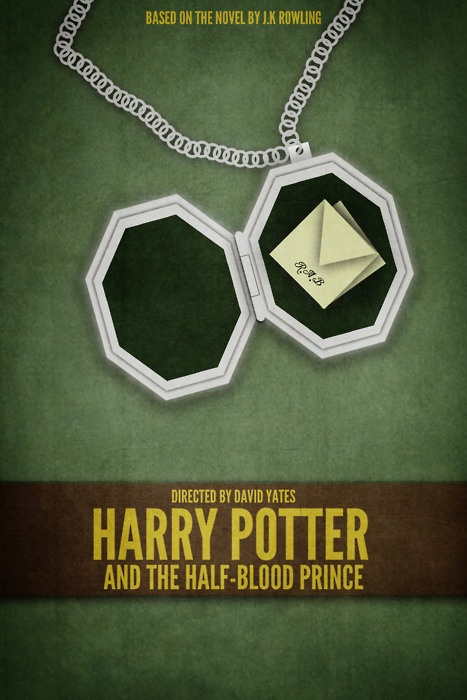Harry Potter and the Half Blood Prince minimalist poster  Harry Potter objectified: series uses one key object from each book: Minimalist Posters, Minimal Posters, Prince Minimalist, Potter Mania, Minimalist Movie, Book, Harry Potter 3, Posters Minimalista, Half Blood Prince