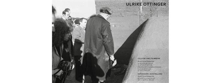"""CICLO DE CINE Y EXPOSICIÓN """"ULRIKE OTTINGER"""" #cine #alemán"""