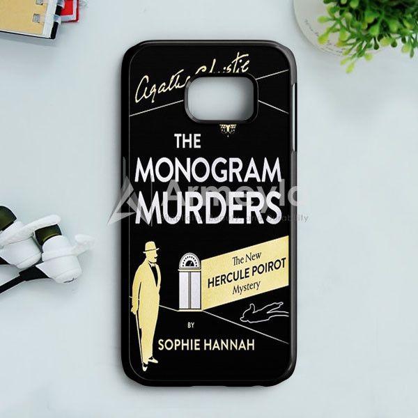 The Monogram Murders Samsung Galaxy S7 Case | armeyla.com