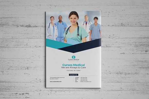 Medical HealthCare Brochure - Brochures brochure layout Pinterest - healthcare brochure