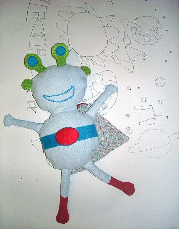 #Superhero #alien #plustoy, #softy #extraterrestrial, #kids #softy #toy