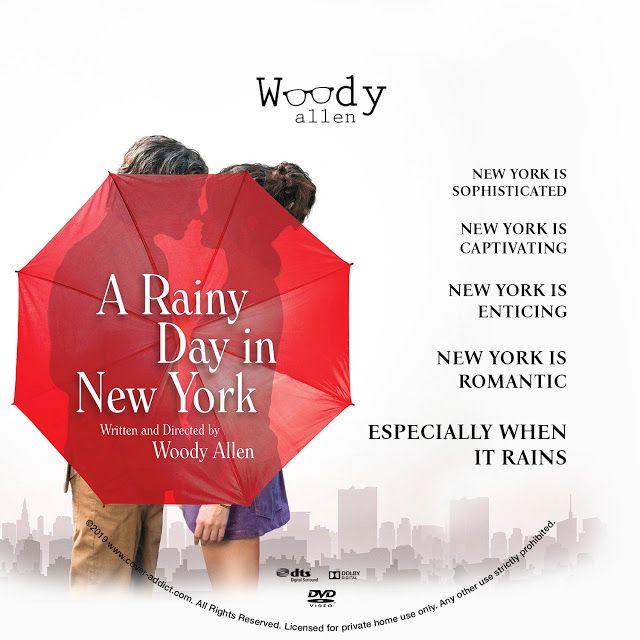 A Rainy Day In New York Dvd Label New York Movie Dvd Label Custom Dvd