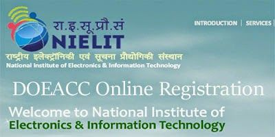 DOEACC CCC Online Registration Form 2015 has been started. Submit application form to appear DOEACC 2015 examination for any courses as CCC, O Level, A Level, B Level or C Level Exams.