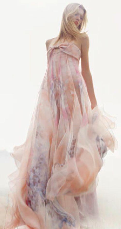 Marchesa ~  Gorgeous...: Long Dresses, Maxi Dresses, Spring Dresses, Pastel Dresses, Evening Gowns, Flowing Dresses, Giorgioarmani, The Dresses, Giorgio Armani