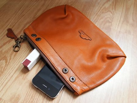 tags : #DIY #sewing #leather #clutch