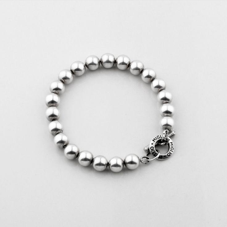 Miglio Designer Jewellery - Petite Silver Bead Bracelet, R399.00 (http://shopza.miglio.com/shop-by-product/petite-silver-bead-bracelet/)