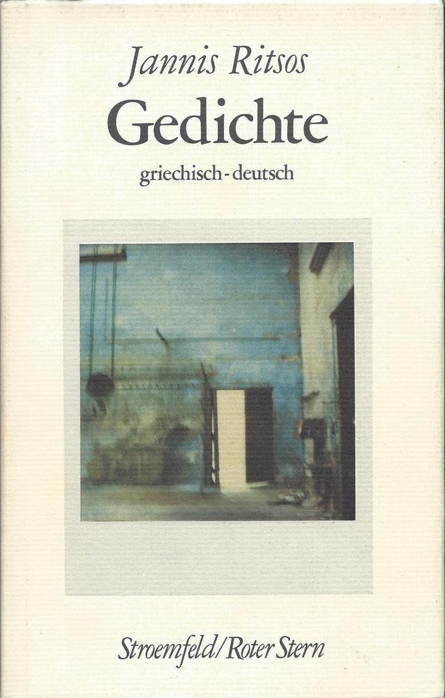 Jannis Ritsos Gedichte Griechisch Deutsch Autorin
