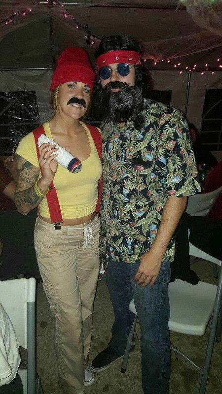 CHEECH AND CHONG COUPLES COSTUME